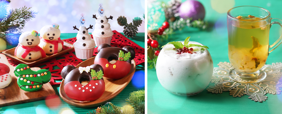 Christmas Merchandise and Treats Available at Disney Parks Across the Globe