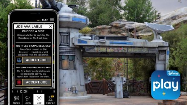 New Rise of the Resistance Jobs Available in the Play Disney Parks App