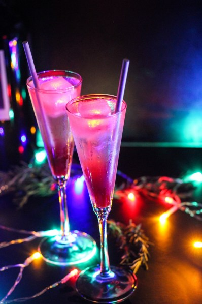 Downtown Disney Celebrates the Holidays With Specialty Glow Cocktails