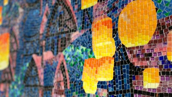 New Mosaic Art Debuts at Disney's Riviera Resort