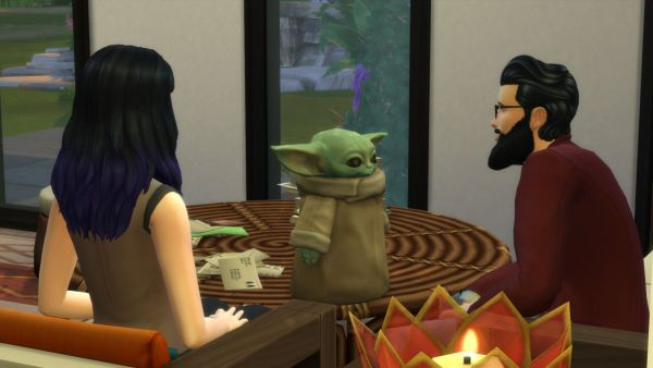 """'Ooh be gah!' """"Baby Yoda"""" is now available in The Sims 4 1"""