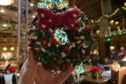 A Delicious Wreath Donut Spotted at Walt Disney World