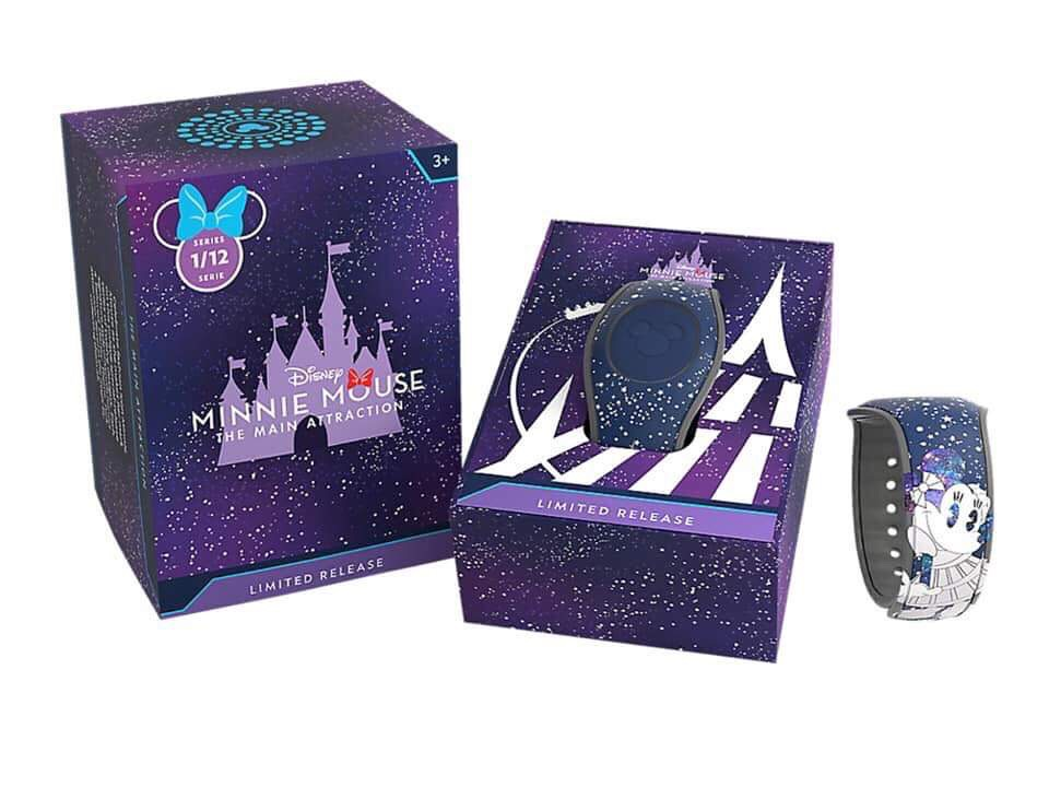 Space Mountain Minnie MagicBand Debuting Soon
