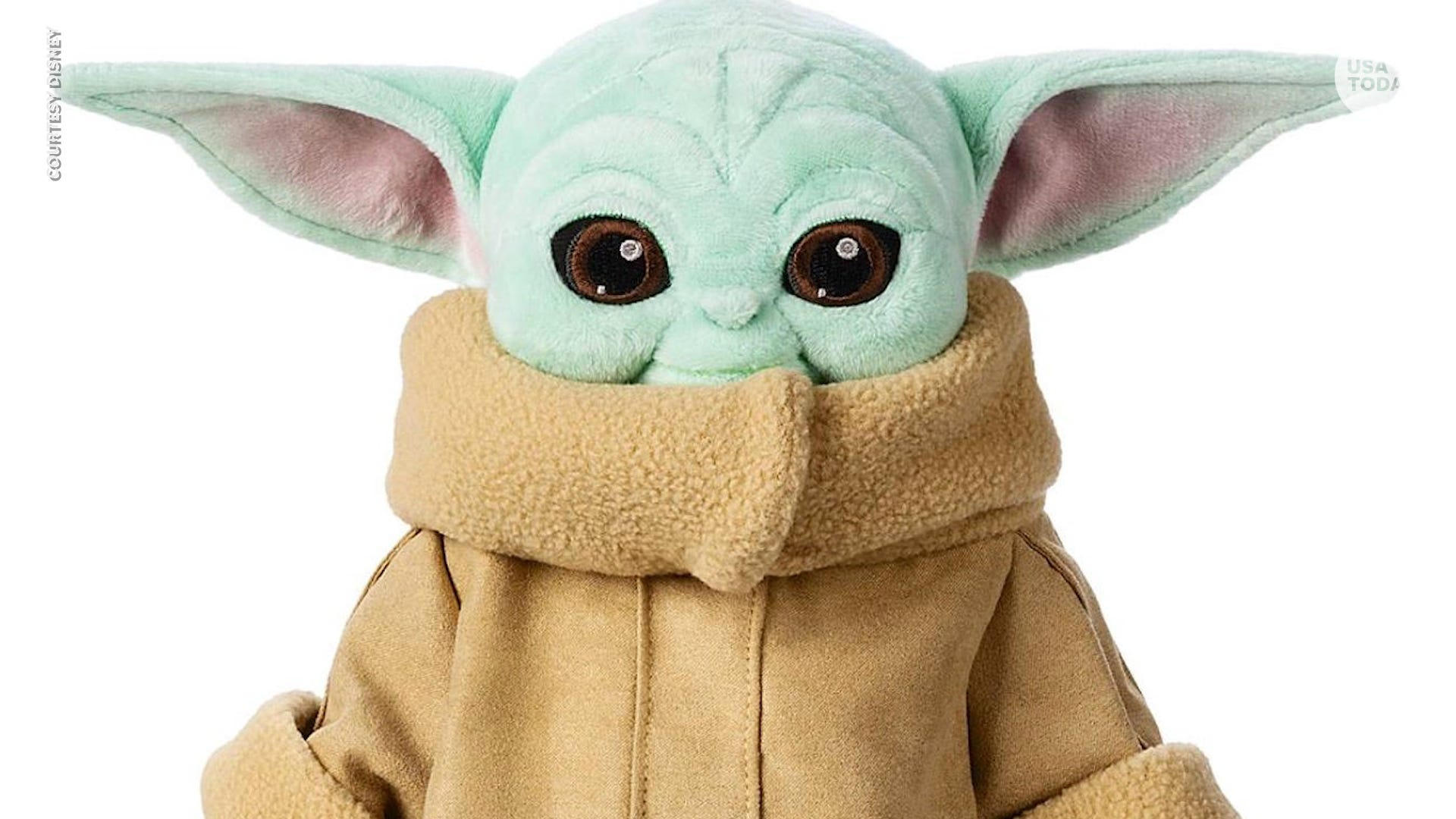 Disney appears to be cracking down on Baby Yoda knockoffs