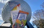 Epcot's International Festival of the Arts Map Debuts on Opening Day