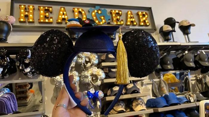 Mickey And Minnie Graduation Ears