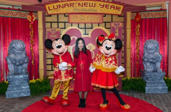Celebrate the Year of the Mouse With Mickey and Minnie and Their Lunar New Year Inspired Outfits 1