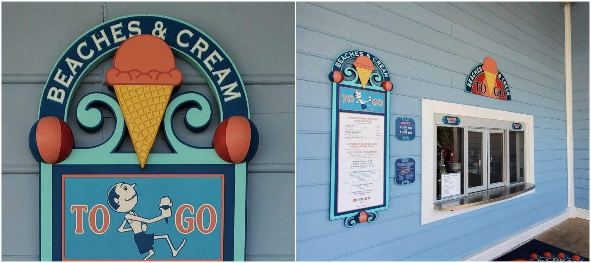 Beaches and Cream Busy? Try the To Go Window!