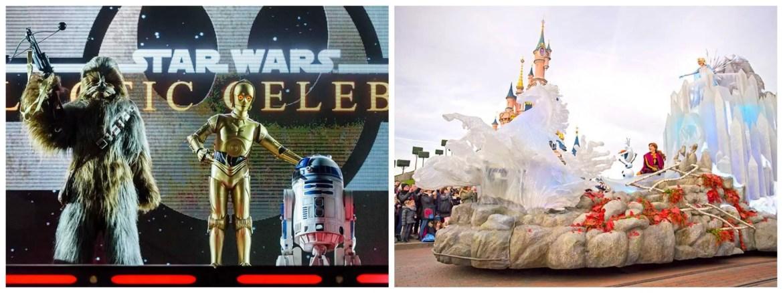 Star Wars and Frozen Celebration at Disneyland Paris