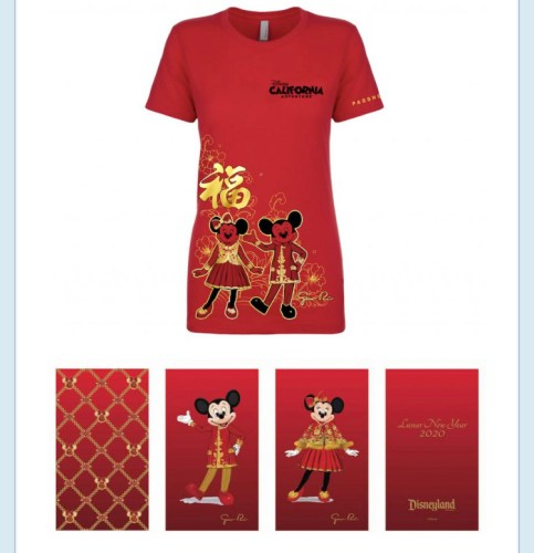 Celebrate the Year of the Mouse With Mickey and Minnie and Their Lunar New Year Inspired Outfits 3