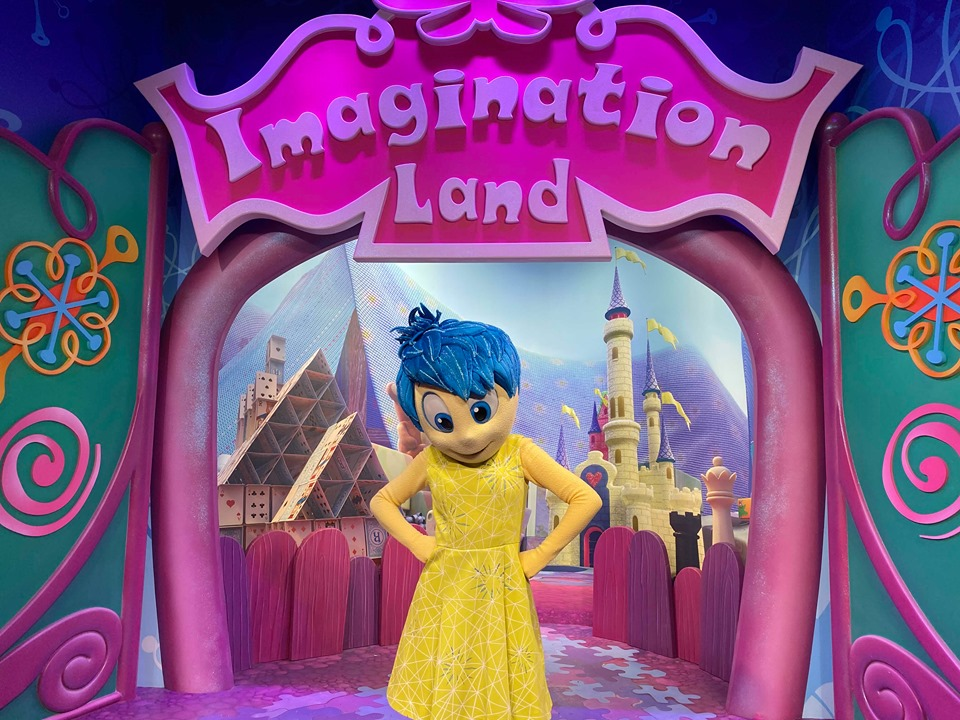 Meet Joy From Inside Out At Her New Meet&Greet Location In Epcot!