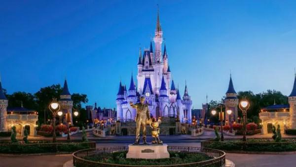 magic kingdom walt castle