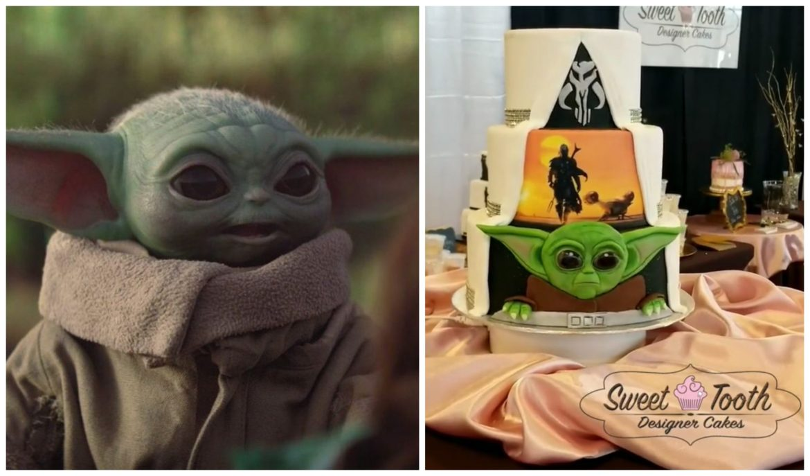 We Are In LOVE With This 'The Mandalorian' Wedding Cake