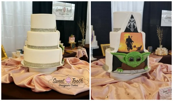 We Are In Love With This The Mandalorian Wedding Cake