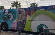 A New 'Monsters Inc' Bus Has Been Spotted at Walt Disney World