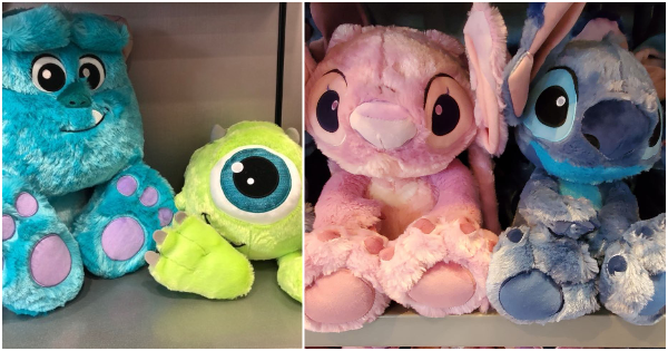 Disney Big Feet Plush Are The Cutest And Snuggliest Pals Around