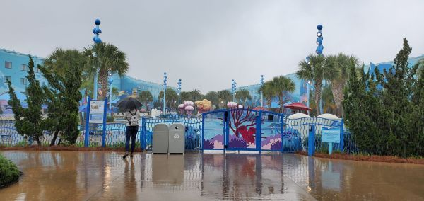 No More Underwater Music At Disney's Art Of Animation Pool 3