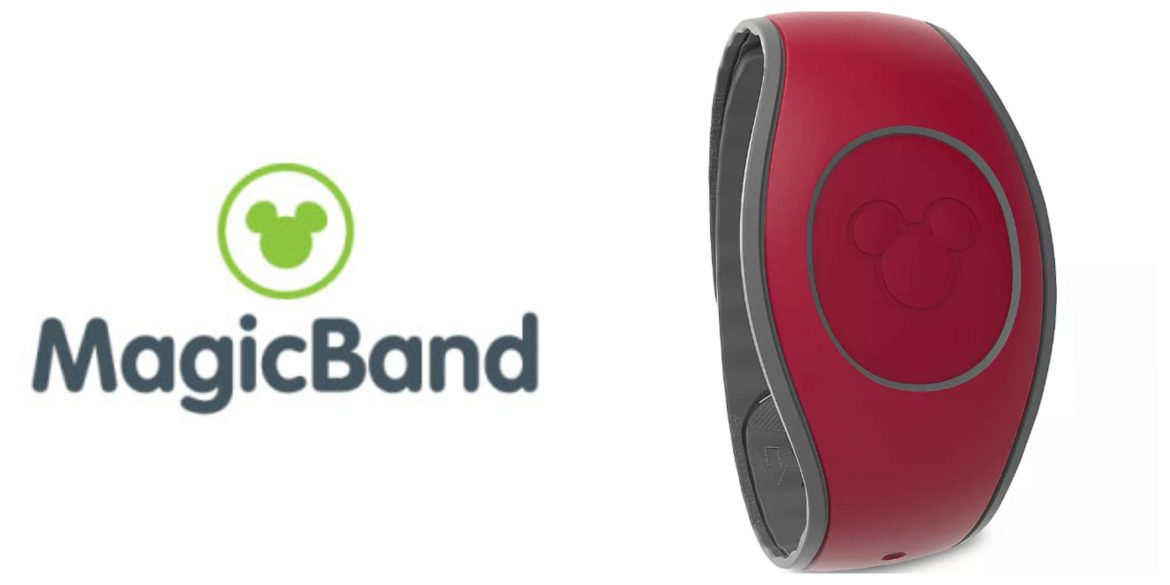 New Dark Red Magicband Now available!