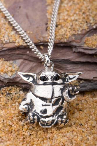 The Child Necklace (Baby Yoda) By RockLove Now On Pre-Order 2