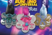 Running Universal Features Characters From DreamWork's Trolls on Sunday, April 26th
