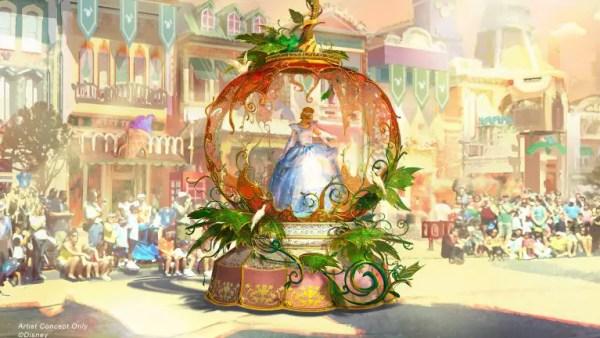 Sneak Peek of New Parade 'Magic Happens' Coming to Disneyland 2