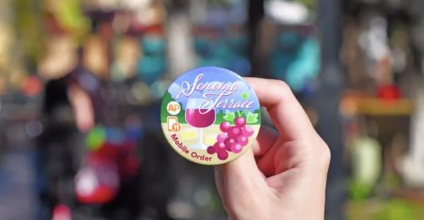 Disneyland Offers New Collectible Buttons For Mobile Orders 5