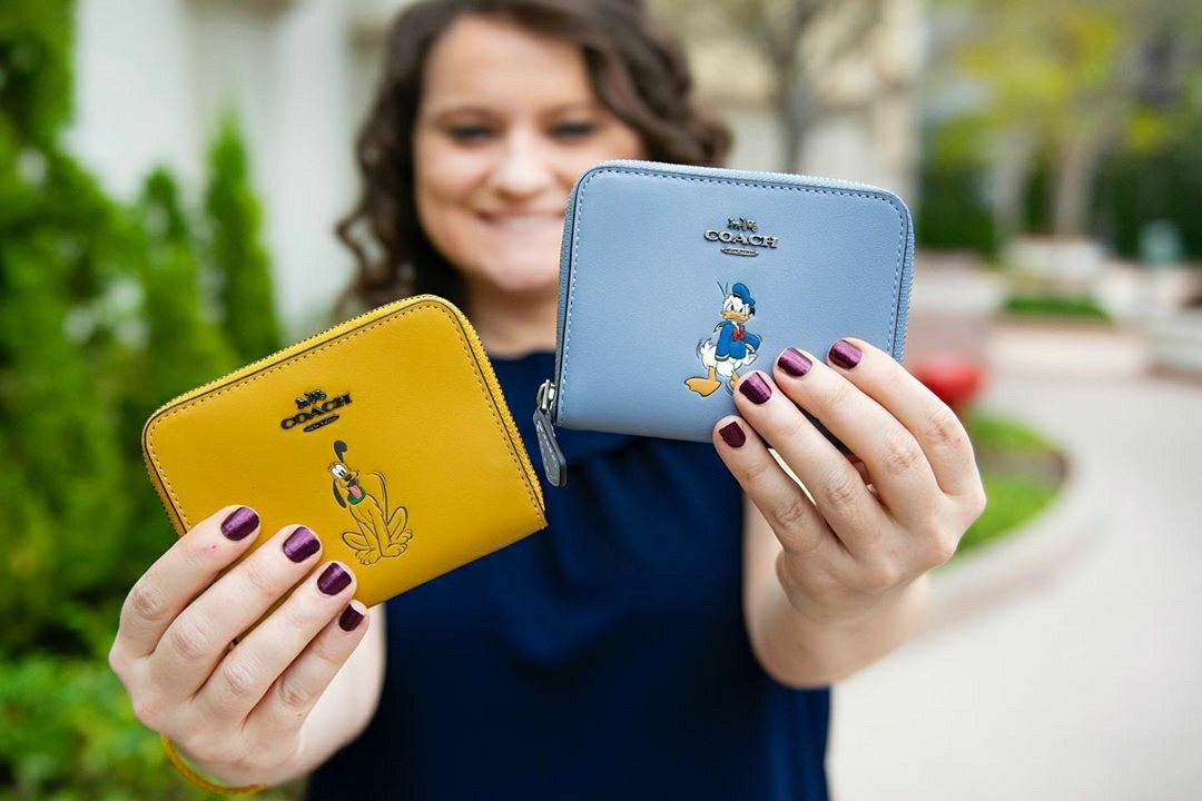 New Disney x Coach collection featuring Donald Duck and Pluto