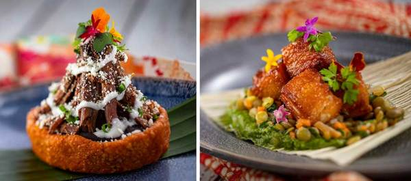 Full Menus for 2020 Festival of the Arts Food Studio Booths 8