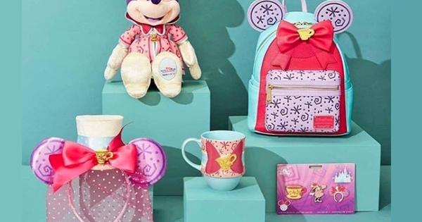 Mad Tea Party Minnie Collection Revealed For The March Release