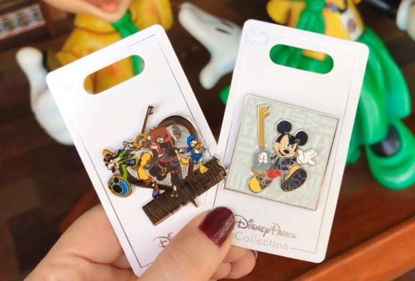 New Kingdom Hearts Pins at Walt Disney World Resort 1