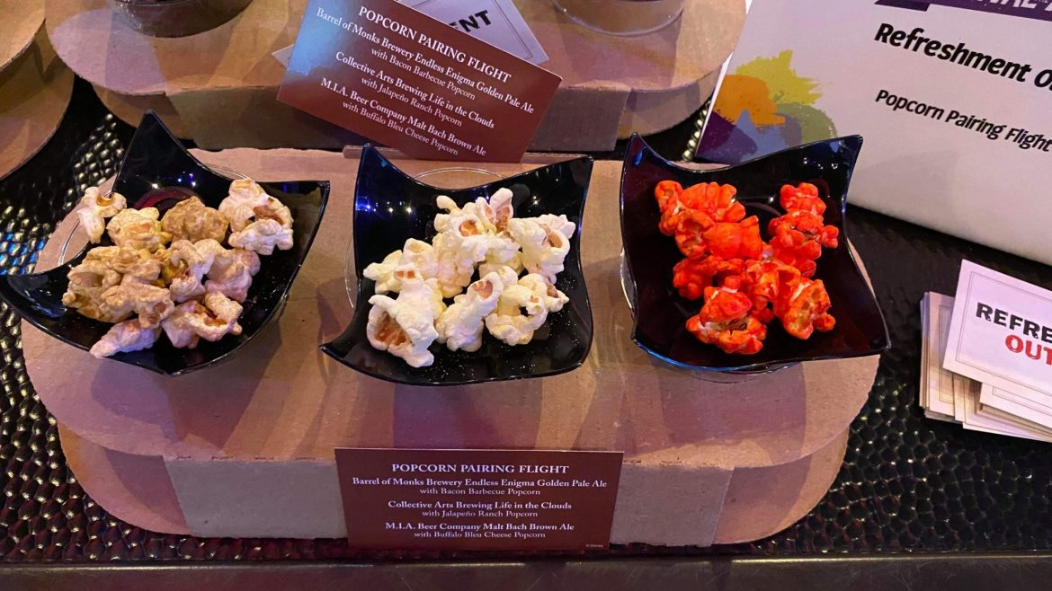 New Foods coming to the Epcot International Festival of the Arts for 2020