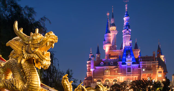 Shanghai Disneyland Closing For The Prevention And Control Of The Coronavirus 1