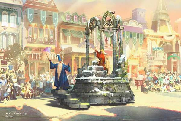 Sneak Peek of New Parade 'Magic Happens' Coming to Disneyland 3