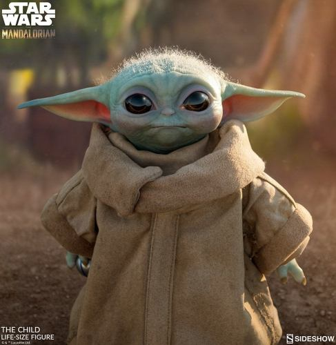 """Disney Releases New """"Baby Yoda"""" Shoes and Life-Sized Figurine 3"""