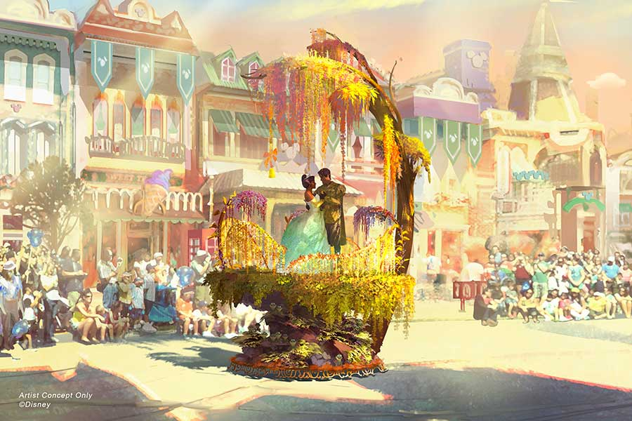 Sneak Peek of New Parade 'Magic Happens' Coming to Disneyland