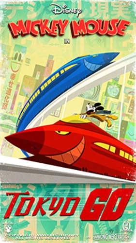 "New ""Tokyo GO"" Poster For Mickey & Minnie's Runaway Railway 2"