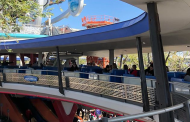 Trains collide on the PeopleMover in the Magic Kingdom
