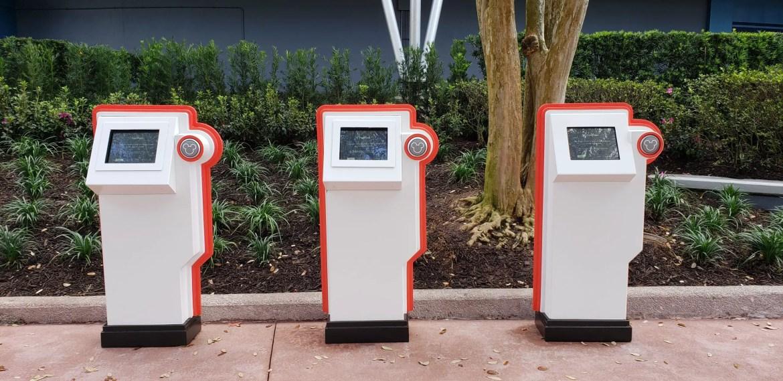 New FastPass+ Kiosks Near Test Track