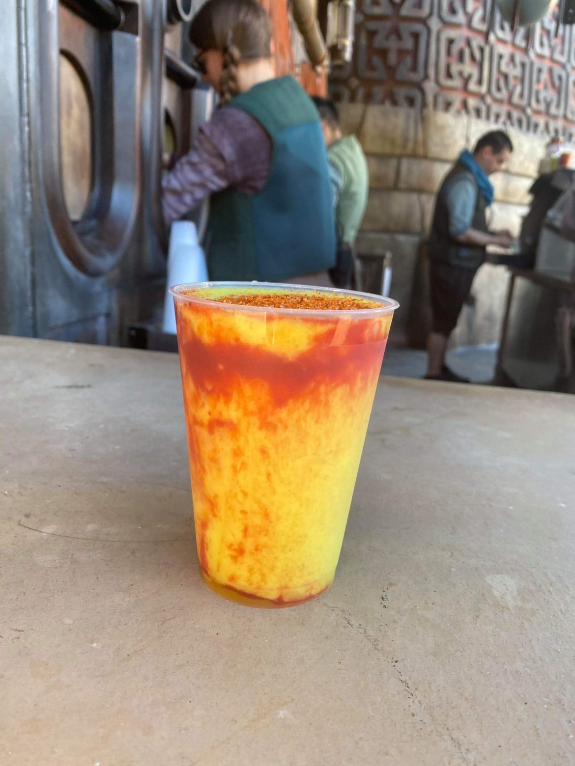 Try the New Toydarian Swirl at Galaxy's Edge!