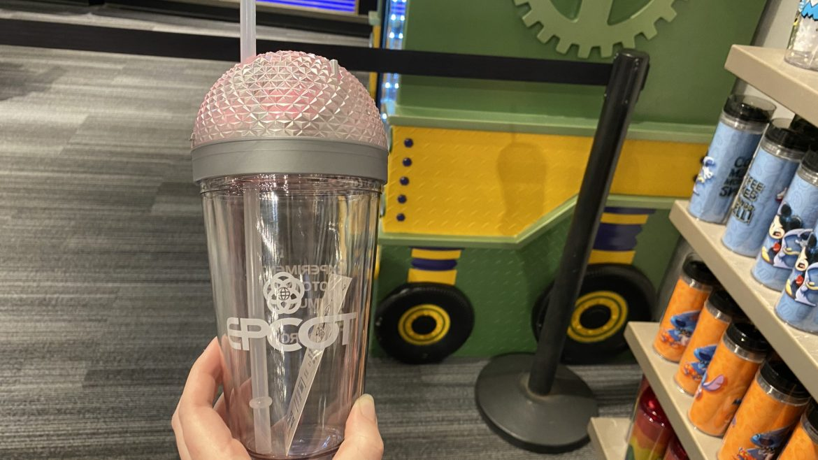 New Epcot Light-Up Tumbler Arrives At Mouse Gear