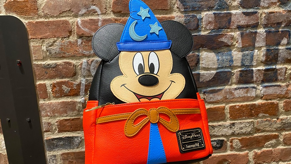 Ink and Paint Sorcerer Mickey Loungefly Backpack Has Arrived