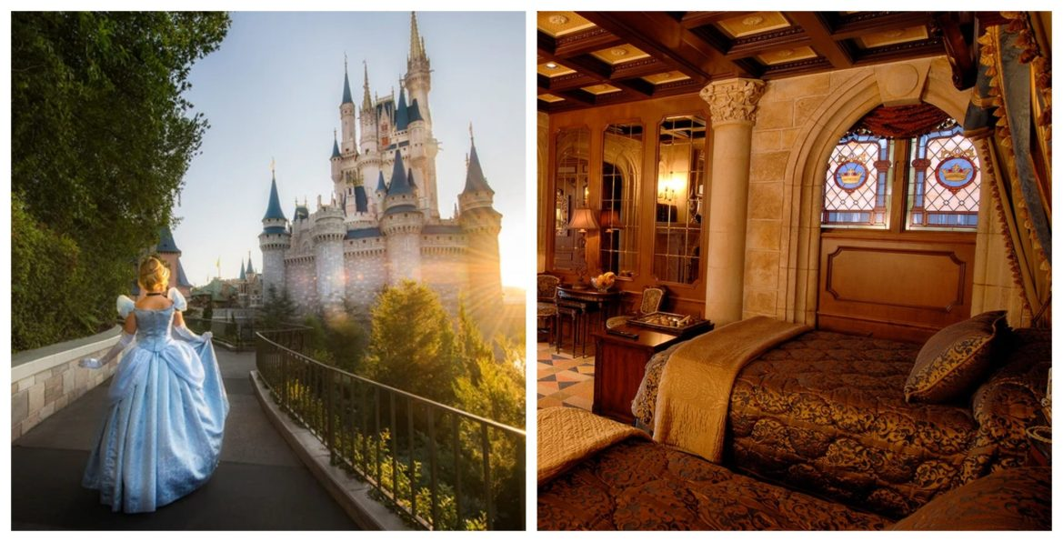 Win Your Chance to Stay in the Cinderella Castle Suite!