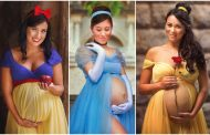 Magical Maternity Photo Shoots Turned These Expectant Moms Into Disney Princesses
