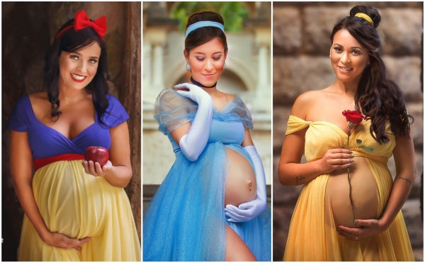 Magical Maternity Photo Shoots Turned These Expectant Moms Into Disney Princesses 1