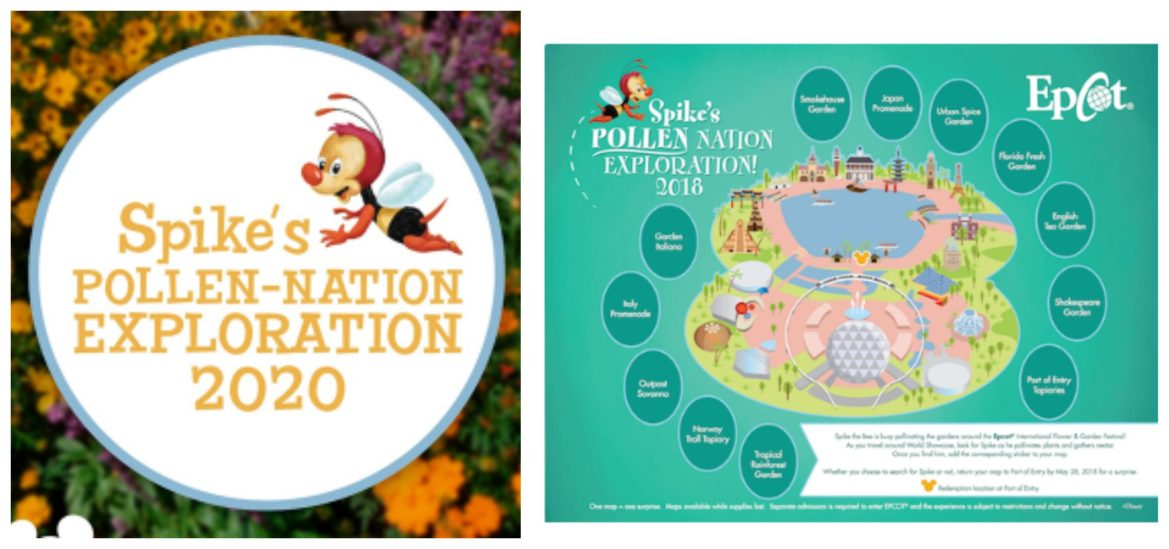 Spike's Pollen Nation Exploration returning to the Epcot Flower & Garden Festival