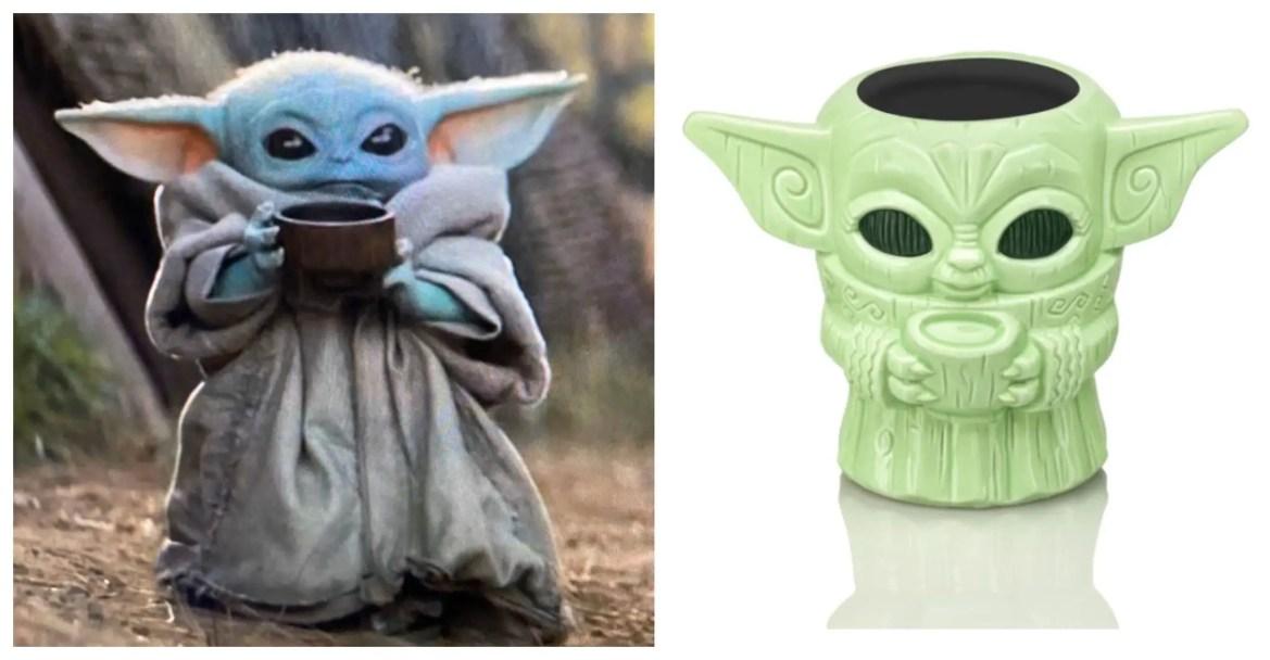 New Baby Yoda Tiki Mug