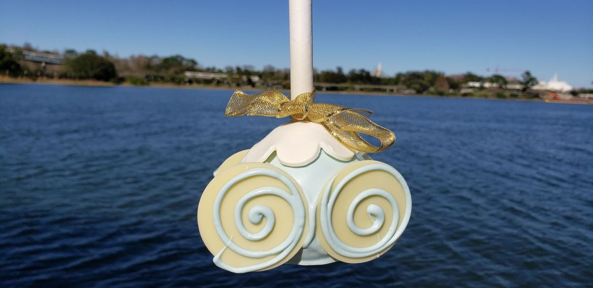 Cinderella's 70th Anniversary Carriage Cake Pop Making Its Way to the Grand Floridian