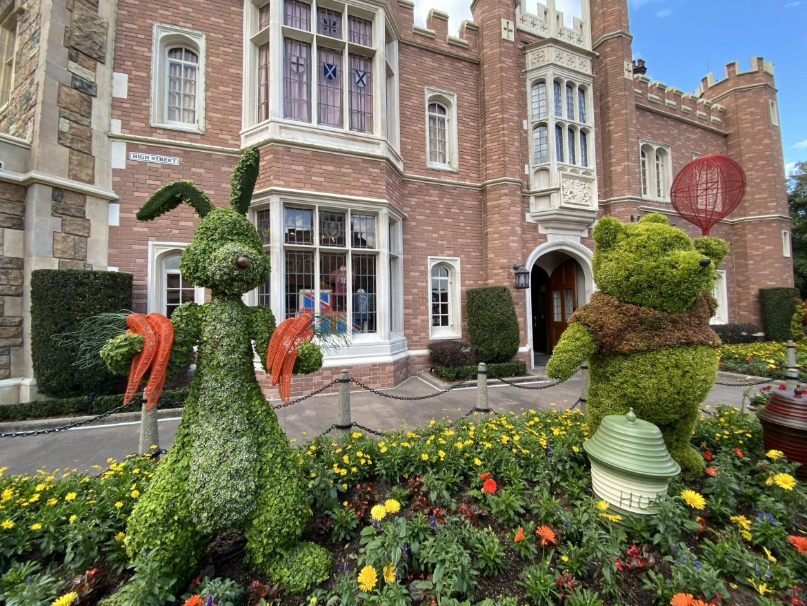 2020 Epcot Flower And Garden- Topiaries Have Begun To Arrive