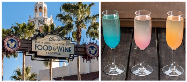 Trio of Mimosas is Sure to be a Hit at the Food & Wine Festival