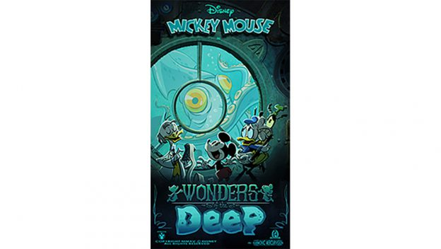 "New ""Wonders Of The Deep"" Poster For Mickey & Minnie's Runaway Railway!"
